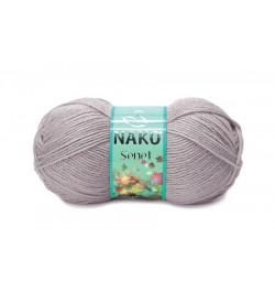 Nako Şenet Pembeli Gri-3079