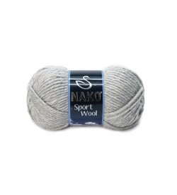 Nako Sport Wool Açık Gri Melanj-195