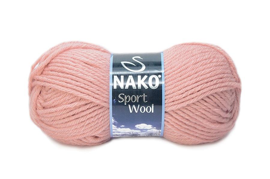 Nako Sport Wool Açık Krem Pembe-2406