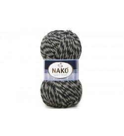 Nako Sport Wool Bej Siyah Muline-21342