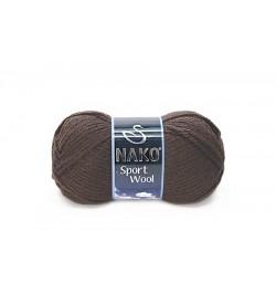 Nako Sport Wool Bitter Çikolata-4987