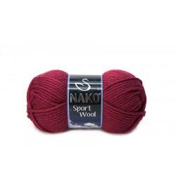 Nako Sport Wool Bordo-6592