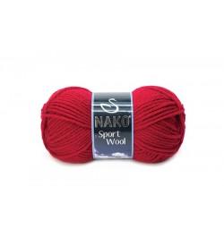 Nako Sport Wool Karmen Kırmızı-3641