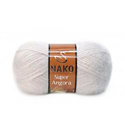 Nako Süper Angora Pembeli Gri-3079
