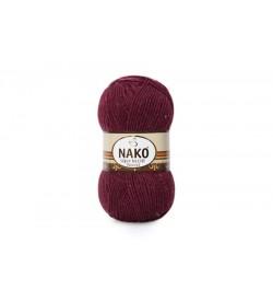 Nako Süper İnci Hit Tweed Bordo-999