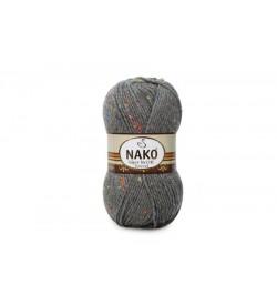 Nako Süper İnci Hit Tweed Koyu Gri Melanj-790