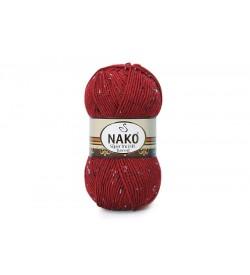 Nako Süper İnci Hit Tweed Koyu Kırmızı-1175