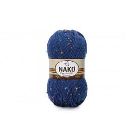 Nako Süper İnci Hit Tweed Lacivert-2394