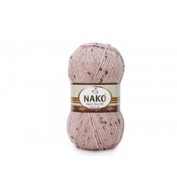 Nako Süper İnci Hit Tweed Pudra Pembe-10569