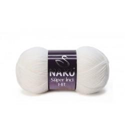 Nako Süper İnci Hit Beyaz-208