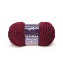 Nako Süper İnci Hit Koyu Kırmızı-1175