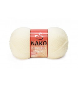 Nako Süper İnci Narin Krem-256
