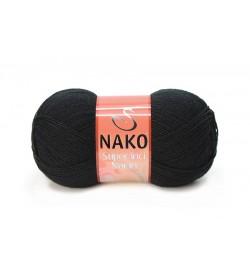 Nako Süper İnci Narin Siyah-217
