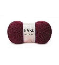 Nako Süper İnci Bordo-999