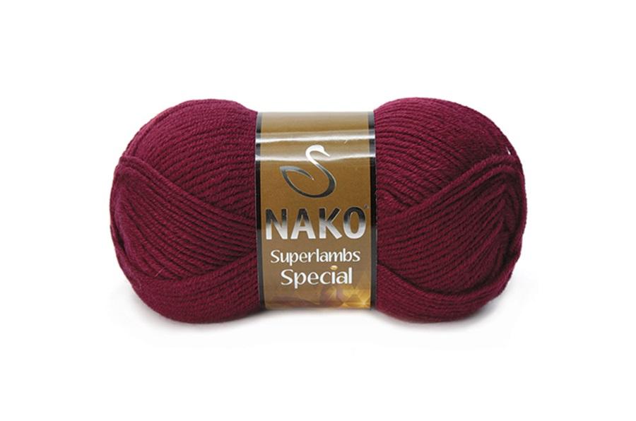 Nako Superlambs Special Bordo-6592