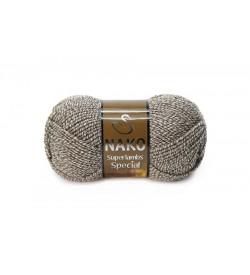 Nako Superlambs Special Kahve Krem Muline-21264