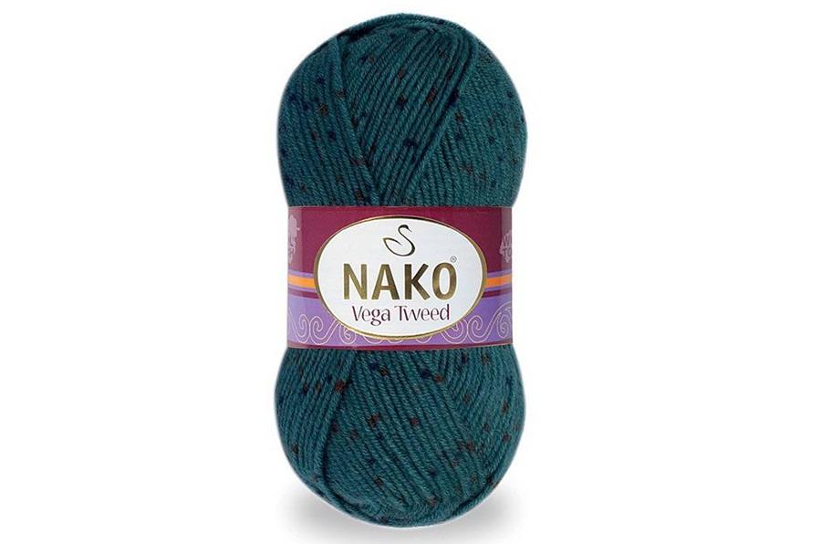 Nako Vega Tweed Mavi Çay-35037