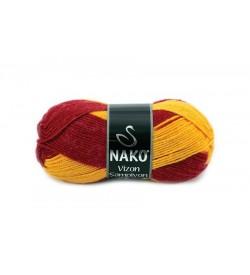 Nako Vizon Şampiyon Sarı Kırmızı-85905
