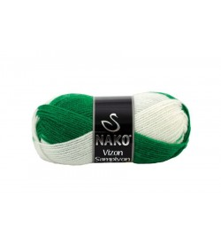 Nako Vizon Şampiyon Yeşil Beyaz-85963