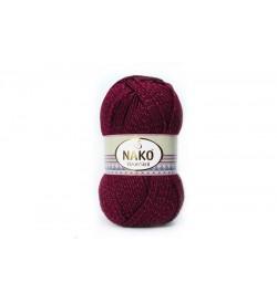 Nako Vizon Simli Bordo-999