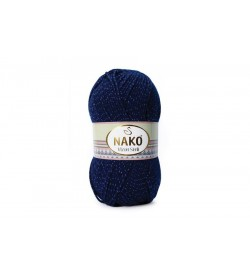 Nako Vizon Simli Lacivert-148