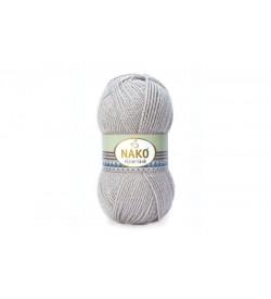 Nako Vizon Simli Pembeli Gri-3079