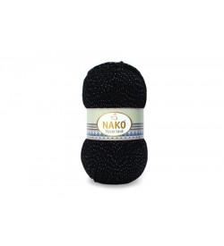Nako Vizon Simli Siyah-217