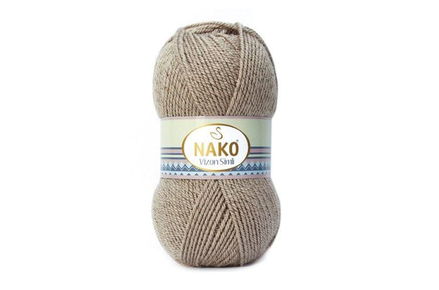 Nako Vizon Simli Sütlü Kahve-257