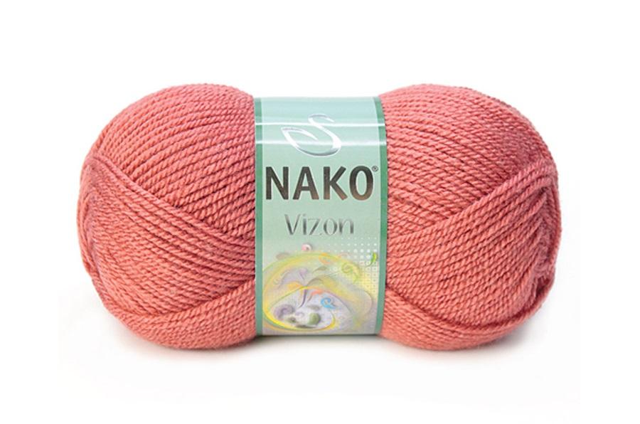 Nako Vizon Gül Kurusu-2574