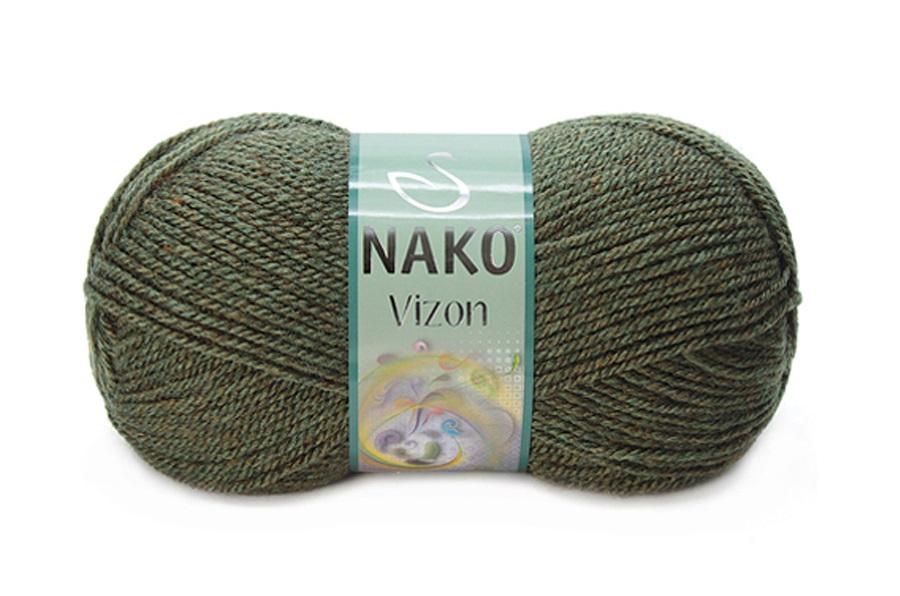 Nako Vizon Melanj Haki-23520