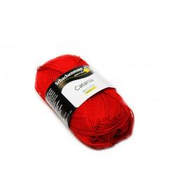 Schachenmayr Catania  El Örgü İpi Kırmızı Color 00115