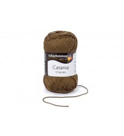 Schachenmayr Catania  El Örgü İpi Kahverengi Color 00414