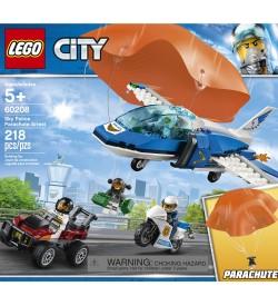 City 60208 Gökyüzü Polisi Paraşütle Tutuklama LEGO City