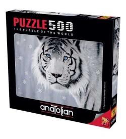 Anatolian Puzzle - 500 Parça - Beyaz Kaplan