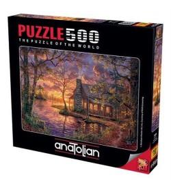 Anatolian Puzzle - 500 Parça - Gizli Yer