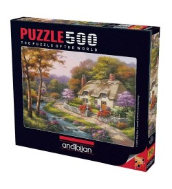 Anatolian Puzzle - 500 Parça - Konakta İlkbahar