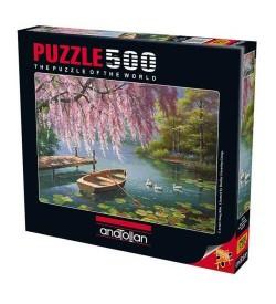 Anatolian Puzzle - 500 Parça - Söğüt Güzelliği