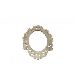 Ayna Figürü Altın Sarısı Pleksi Ayna