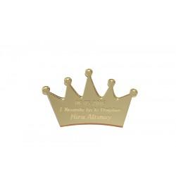 Kral Tacı Altın Sarısı Pleksi Ayna 01