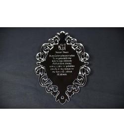 Nazar Duası Pleksi Ayna 01