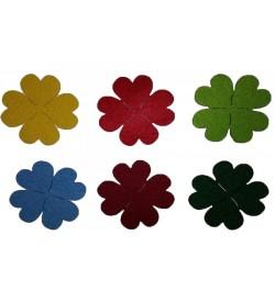 Dört Yapraklı Renkli Yonca