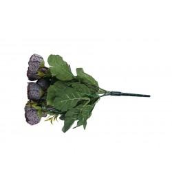 Bordo Çiçek Demeti