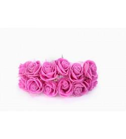 12'li Koyu Pembe Çiçek Demeti 92097