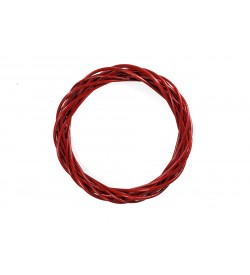 Kırmızı Ahşap Kapı Süsü 25 cm
