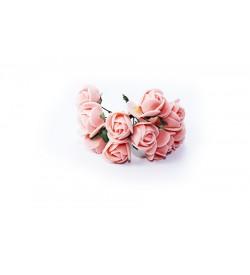 12'li Yavruağzı Çiçek Demeti 92097