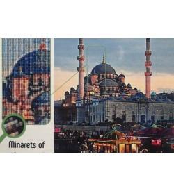 Collection Dart Elmas Nakışı Taş Yapıştırma Eminönü Yeni Camii DE901