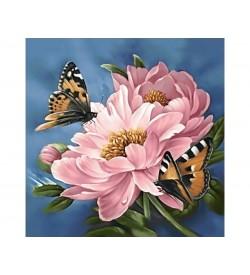 Collection D'art Elmas Nakışı Taş Yapıştırma Çiçek Sapı DE583